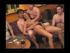 Nasty group fuck on cam