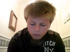 Three gay teens jerk off on webcam
