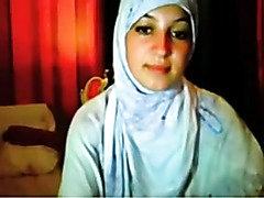 hijab cutie fingering