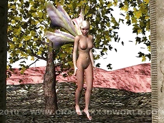 3D Animation: Fairy and Dragon