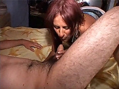 Older Italian non-professional swinger screwed in all holes