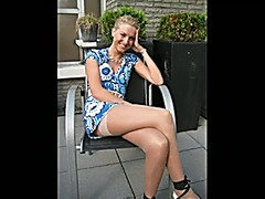 Non-Professional three-some - marvelous blond swinger wife
