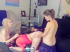 Best Homemade Shemale video with Fucks Girl, Blonde scenes