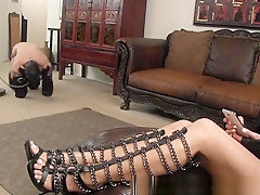 Crazy Homemade clip with Brunette, Cunnilingus scenes
