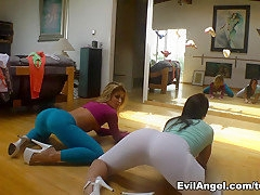 Best pornstars Mischa Brooks, Jada Stevens, Sheena Shaw in Hottest Big Ass, Pornstars xxx video
