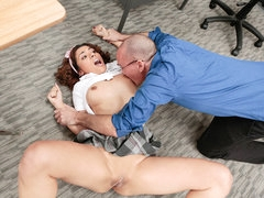 InnocentHigh - Hot Cheating Schoolgirl Punished