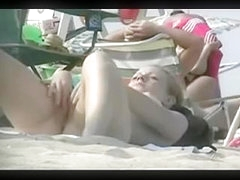 Spying Bald Vaginas on Beach by TROC