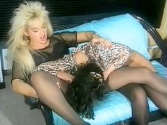 Lustful German whores in vintage sex movie