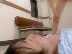 Asian nurse assualts her patient