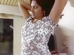 Desi Indian Aunty with Boss In his Flat