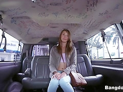 Kirsten Lee in Kirsten goes Wild on a Spring Break Bus Ride - BangBus