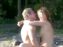 Nude Beach - Hot Couple Fuck