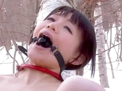 Japanese anal outdoor