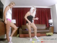 Strip Pod Stomp with Ashley and Whitney