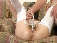 Hardcore latex sex movie with rough bdsm sexual games